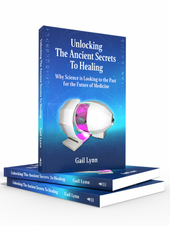 PRE-SALES NOW!  Unlocking The Ancient Secrets To Healing ($16.95 after PRE-SALES)
