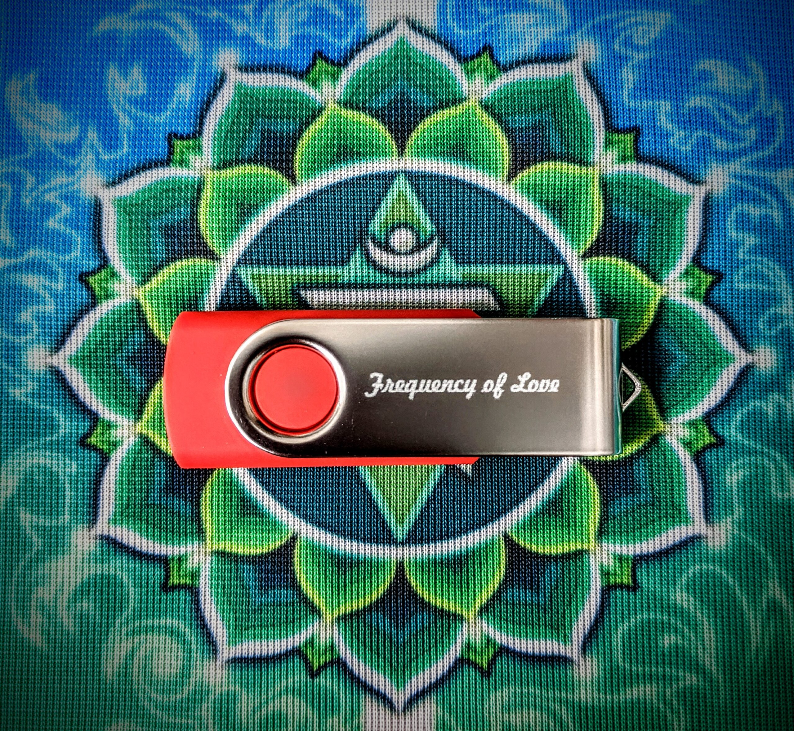 Frequency of LOVE - USB Drive with Liner Notes and Music