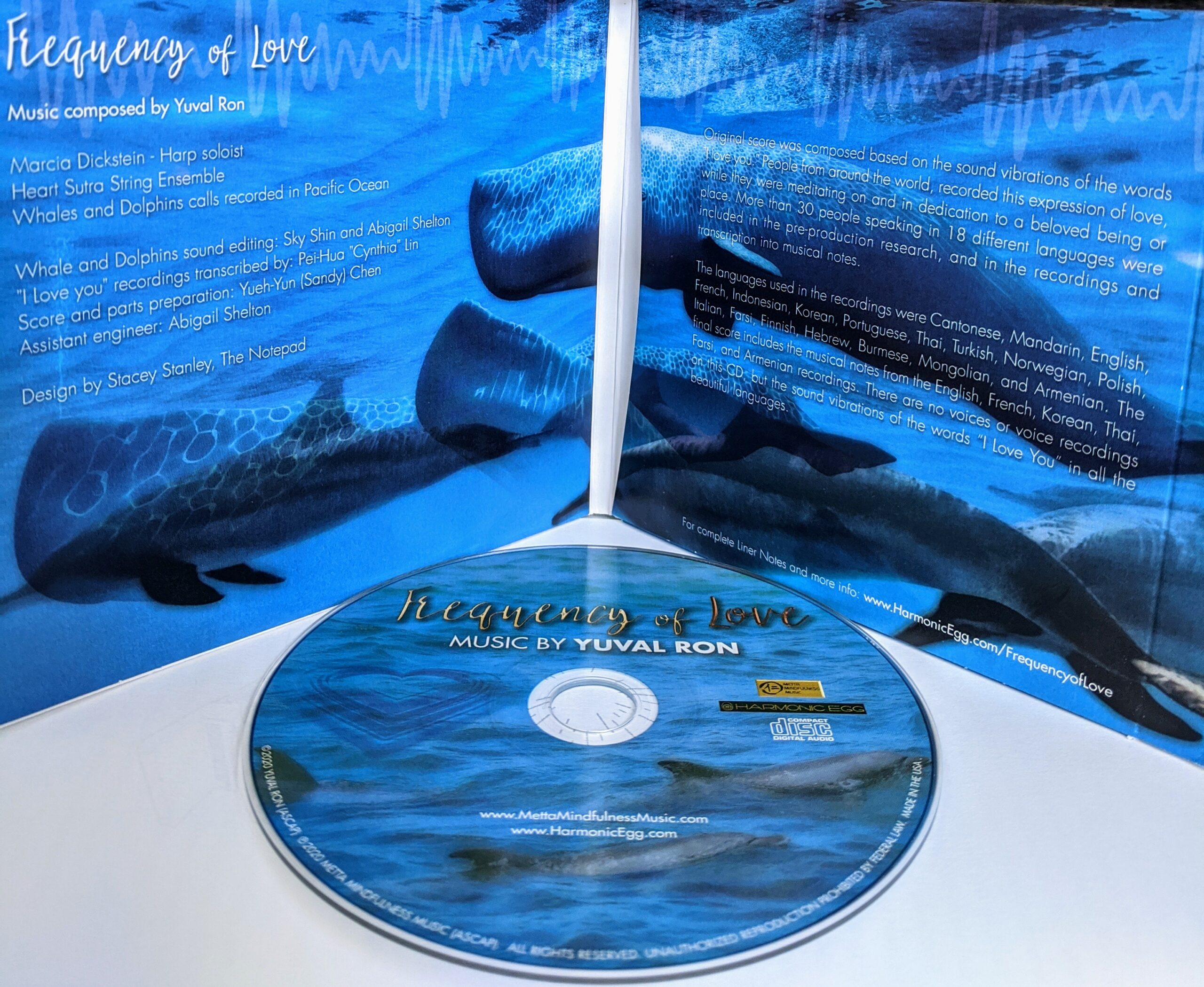 Frequency of LOVE - CD